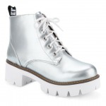 Casual Platform and Tie Up Design Short Boots For Women
